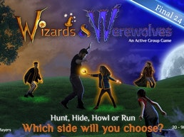 Wizards & Werewolves: A Glow-in-the-Dark Outdoor Game