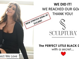 SCULPTURA® - Patented Figure Enhancing Miracle Dress!