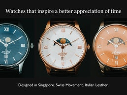 A watch that inspires, elevates, and stands the test of time