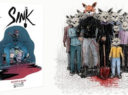 SINK: Blood & Rain - Crime/Horror GN will Break Kickstarter
