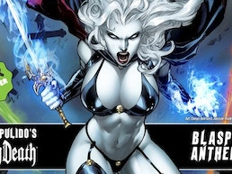 Brian Pulido's Newest: Lady Death: Blasphemy Anthem #1!!!!!