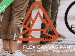 Flex Canvas Pants V2 - Versatile, durable, sustainable