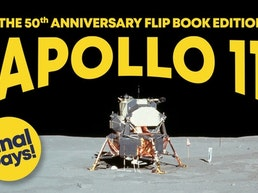 Apollo 11 - An Epic Moon Landing Flip Book Edition