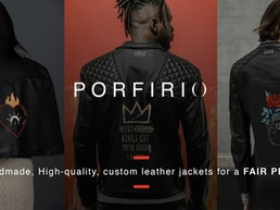 """PORFIRIO"" Handmade, Custom Leather Jackets for a FAIR PRICE"