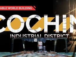 Cochin Industrial District: 3d Printable World Building