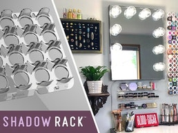 Shadow Rack: Bringing Innovation to Makeup Organization