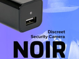 NOIR: Discreet Security Camera and USB Charger