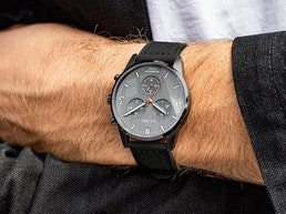 TRIWA TIME FOR PEACE II Watch made from Illegal Firearms