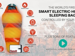 The SMART Electric Sleeping Bag Of Your DREAMS! | BUNDL