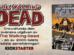 The Walking Dead som seriealbum – på svenska!