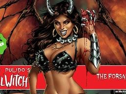 Brian Pulido's Newest: Hellwitch: The Forsaken#1!