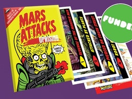 Mars Attacks: Uprising - Wax Pack Sampler