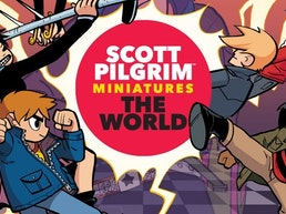 Scott Pilgrim Miniatures the World - Relaunch!