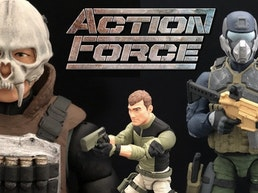 ACTION FORCE - 1:12 (6 inch) Scale Military Action Figures