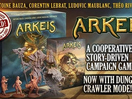 Arkeis - a cooperative story-driven campaign board game