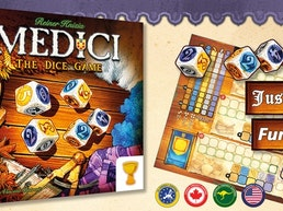 Medici: The Dice Game - Knizia's Medici Family Expands!
