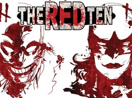 THE RED TEN Vol 1 & 2 | Superhero Murder Mystery Hardcovers