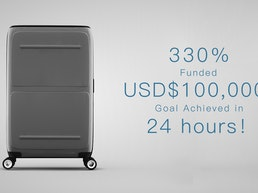 SkyTrek - Your First Smart Luggage with Vertical Opening