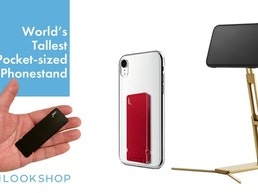 Lookstand: World's Tallest Pocket-sized Phonestand