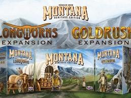Montana: Goldrush & Longhorns (Heritage Edition Expansions)