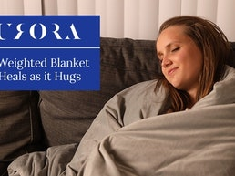 Aurora: The Weighted Blanket that Heals as it Hugs