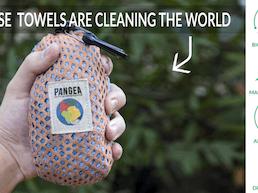 PANGEA Bamboo Travel Towel