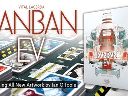 Kanban EV by Vital Lacerda with Artwork by Ian O'Toole