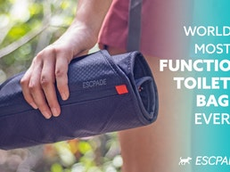 Escpade: World's Most Functional Toiletry Bag Ever!