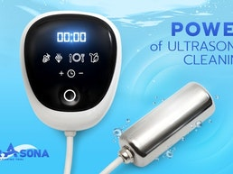 Ultrasona: Ultrasonic Cleaning in the Palm of Your Hand