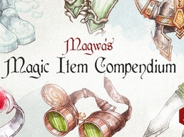 Magwa's Magic Item Compendium: Hardcover