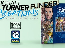 Michael Turner Creations Hard Cover