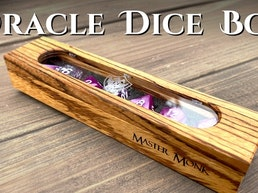 Oracle Dice Box - Master Monk Gaming