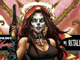 B. PULIDO'S NEWEST GRAPHIC NOVEL: LA MUERTA #1: RETALIATION!