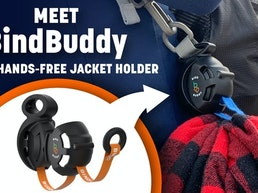 Meet BindBuddy: Your Hands-Free Jacket Holder
