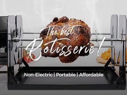 ROTO-Q 360 : The Non-Electric Rotisserie Cooking Machine