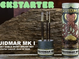 Squidmar: Kolinsky Miniature Paintbrush