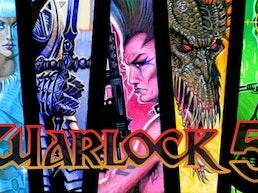 Warlock 5 Omnibus by Den Beauvais & Gordon Derry
