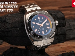 AUDRIC SeaBorne 500 M | Rugged Tool Watch For Enthusiasts.