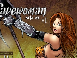 Cavewoman: Metal Age #1 comic from Amryl Dark Entertainment