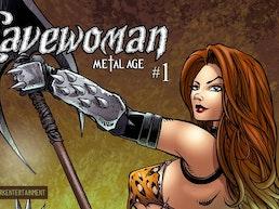 Cavewoman: Metal Age #1 comic from Amryl Dark Entertainment