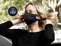 eBreath: Face mask with N99 filter & Air Ventilation system