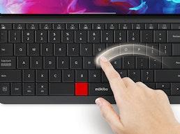 Mokibo Folio for iPad Pro: The Keyboard *IS* The Trackpad