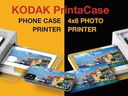 PrintaCase Photo Printer with 3-Minute DIY Phone Case