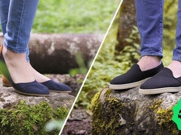 Simple Swiss Shoes - Wool Flats and Loafers