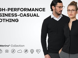 BaronMerino: High-performance business-casual clothing.