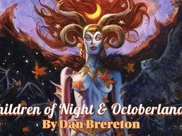 CHILDREN of NIGHT Deluxe Edition Art Book by Dan Brereton