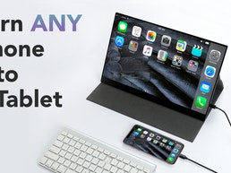PhonePad: Turn ANY smartphone into a tablet