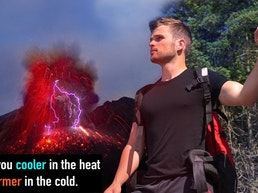 Volcanxx- Adaptive clothing made with active volcanic sand.