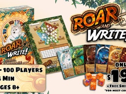 Roar and Write! An Animal Kingdoms Game