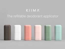 Kiima™ : The refillable deodorant applicator